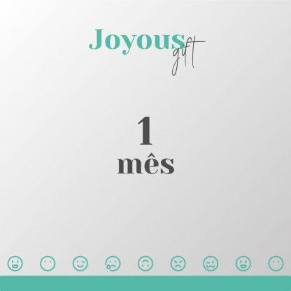 joyoys GIFT adquira 1 mes